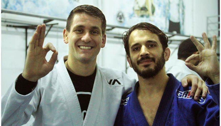 Seminario con el 6X World Champ Rafael Mendes