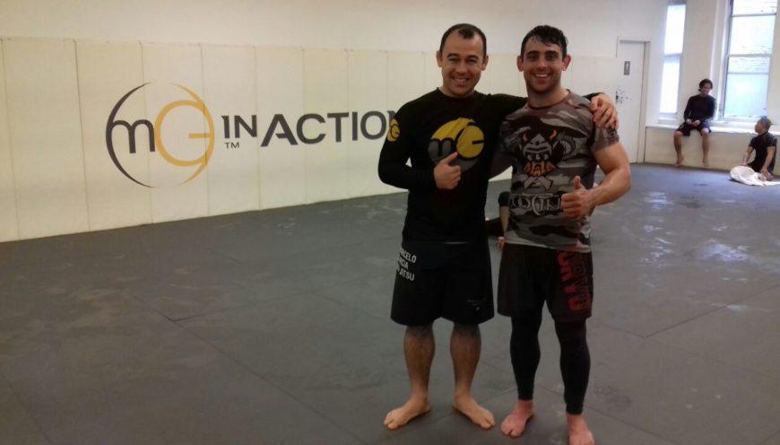 Entrenamiento en Marcelo García (NY)