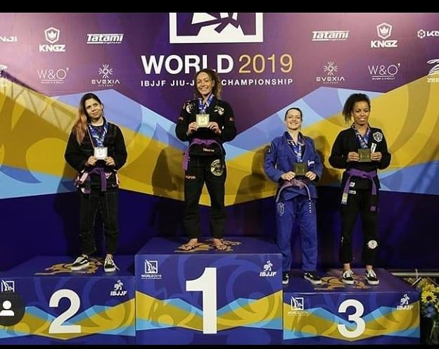 Eliana Carauni Bronce Mundial y Brasilero